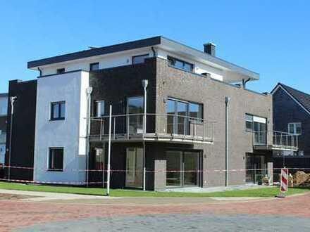 NEUBAU: Ruhige Lage: tolle 3-Zi.-Whg., 91 m², EBK, Balkon, Tiefgarage