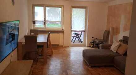 Attraktive 3-Zimmer-Erdgeschosswohnung mit Balkon in Emmering