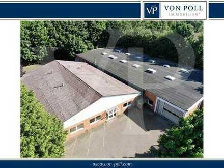 Große Gewerbehalle mit Büros und Erweiterungsmöglichkeiten in Oldenburg/Tweelbäke