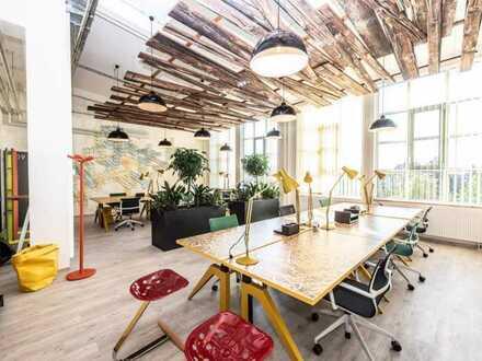 Brucklyn Hall Coworking Spaces: Repräsentative Design-Büros, Konferenzräume & einzelne Desks
