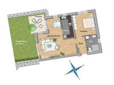 BETREUTES WOHNEN: großzügige 2-Zimmerwohnung