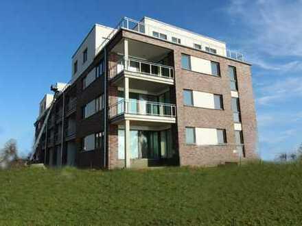 Exklusives KfW55 Neubau-Apartment in erster Reihe zur Schlei in Schleswig