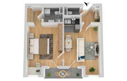 Anlageobjekt*2 Zimmer mit Balkon* Nähe Uni, City und S-Bahnhof