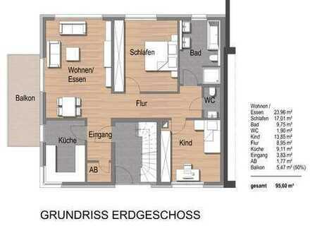 Exklusive 3-Zimmer-Traumwohnung im Duisburger Süden