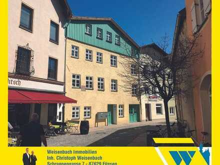Solide vermietete und neuwertige Büroräume im Herzen der Füssener Altstadt
