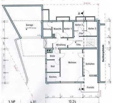 Moderne und sanierte zwei Zimmer Wohnung in Rems-Murr-Kreis, Rudersberg