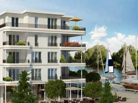 Genussvolle Lebensqualität direkt an der Marina! 3-Zimmer-Penthousewohnung mit Dachterrasse & Balkon