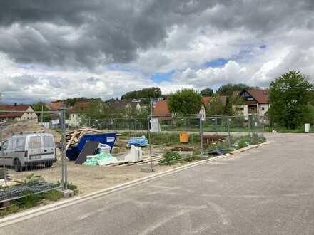 Baugrundstück für DHH in zentraler Lage von RT-Wannweil