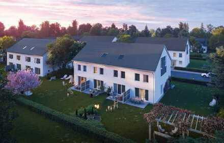 Lichtdurchflutetes Reihenmittelhaus in Rodgau-Hainhausen, Rilkestr. inkl. Grundstück