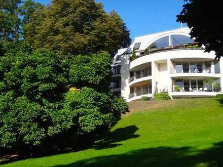 """Exklusive 4-Zimmer-Wohnung in der """"Wasserresidenz"""" amHalensee- Grunewald auf parkartigem Seegrundstü"""