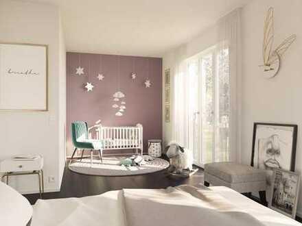*BESTE AUSSICHT FÜR IHRE FAMILIE* 4-Zimmer-Wohnung auf 109 m² mit Loggia und Balkon