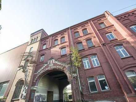 exklusive Loftwohnung mit Terrasse in der alten Bremme Brauerei Erstbezug nach Sanierung