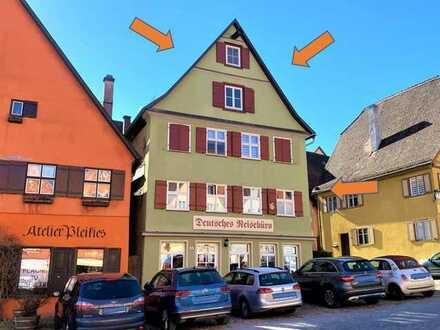 Rarität: Voll saniertes Wohn-u. Geschäftsgebäude im Herzen der Dinkelsbühler Altstadt
