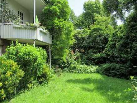 **Traumschöne 2,5 ZKB mit Gartenanteil und Einbauküche am Mannheimer Neckarufer**