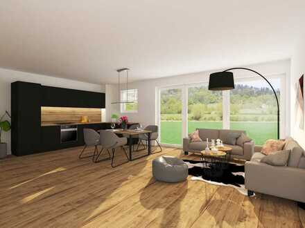 4-Zimmer Eigentumswohnung A3 Neubau mit Gartenanteil in Toplage am Ende einer Wendeplatte