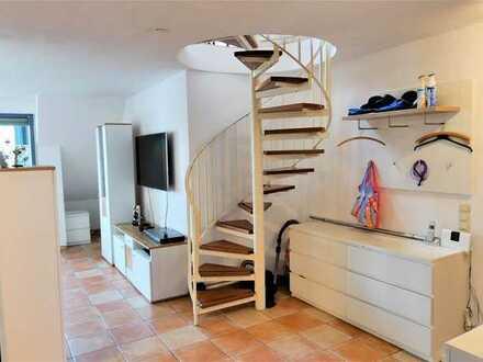 4-Zimmer-Maisonette-Wohnung mit Loggia und TG-Stellplatz in Pfinztal-Berghausen