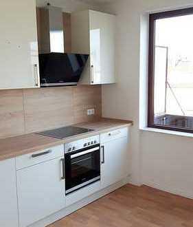 Helle, moderne 3 ZKB mit Balkon in Fußgängerzone renoviert mit neuer Küche! 4 OG ohne Fahrstuhl