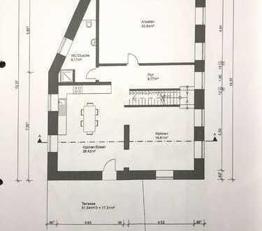 Schöne, geräumige fünf Zimmer Wohnung in Flombron Alzey-Worms