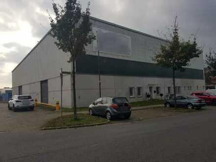 Werkhalle/Lagerhalle am Top-Standort BWK-Gelände