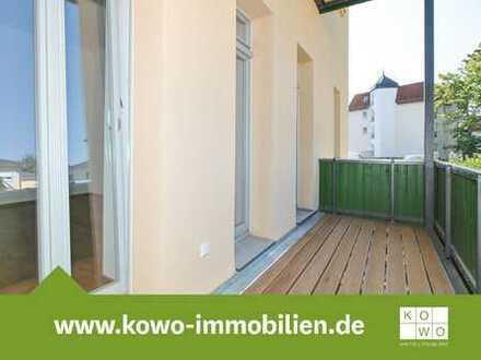 Erstbezug nach Sanierung: 4-Zimmer-Wohnung mit Gartenanteil und Stellplatz in Dölitz-Dösen