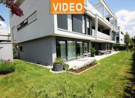 Exklusive Gartenwohnung in moderner u. hochwertiger Ausstattung! 2 TG Plätzen in sehr ruhiger Lage!