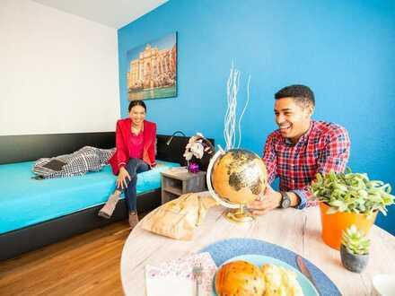 All Inclusive-Wohnen in toller Rheinlage mit Balkon (Superior Apartment)