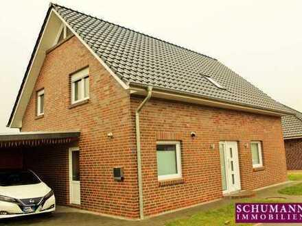 Kinderfreundliches Energiesparhaus mit Photovoltaik -Neubau in Sengwarden -