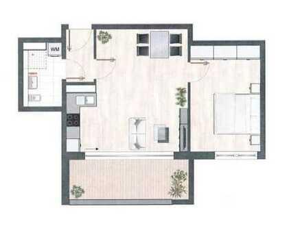 Moderne 2-Zimmer-Wohnung mit toller offener Küche, Loggia Wohnung Nähe City-Galerie