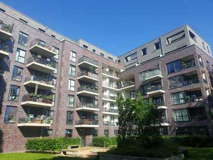 Neubau! Schöne und gut geschnittene 3-Zimmer-Wohnung mit 2 Balkonen in der Nähe vom Stadtpark