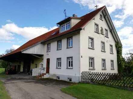 Schönes ehemaliges Bauernhaus mit sehr großem Garten in Hoßkirch zwischen Bad Saulgau und RV