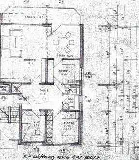 Gepflegte 3,5-Zimmer-Wohnung mit Balkon in Hamm