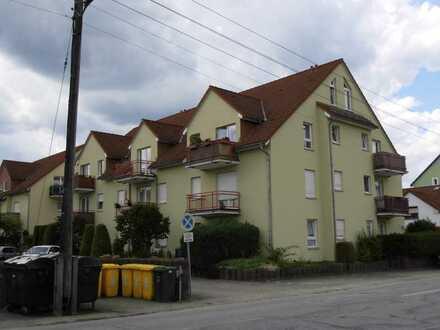 1-Zimmer-Wohnung mit Terrasse und Pkw-Stellplatz