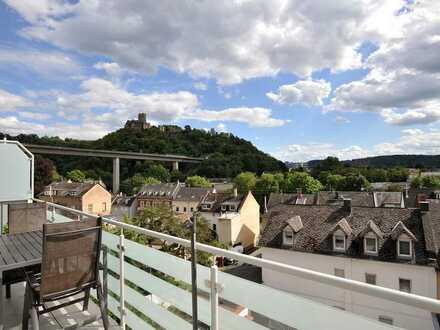 Nachmieter gesucht ! Gut aufgeteilte 4 ZKB Wohnung mit großzügigem Balkon in Lahnstein zu vermieten