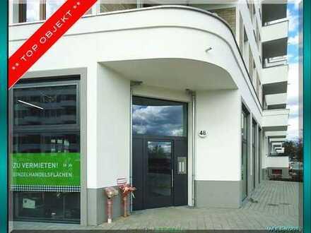 SPANDAU-Hakenfelde : Neubau-EG-Laden- oder Bürofläche zum Ausbau im Erstbezug