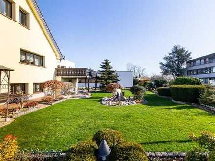 Wohnfläche 605 m²   Gewerbefläche 584 m²: Wohnhaus und Gewerbe-/Wohnobjekt in Mainflingen