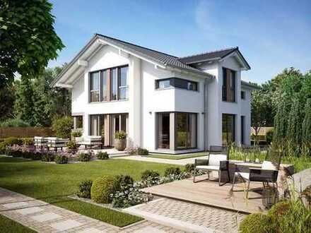 E & Co. - Projektion / Planung eines EFH mit bis ca. 390 qm Wohnfläche möglich.