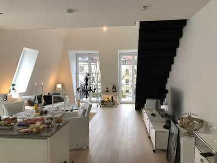 Business WG in 3-Zimmer Dachgeschoss Maisonette Wohnung mit hochwertiger Ausstattung