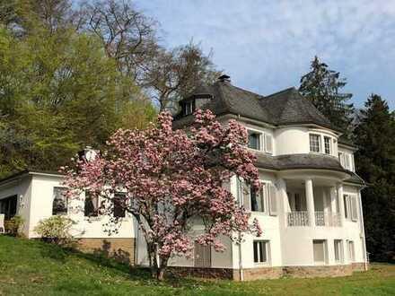 Außergewöhnliche Villa in Essens Top - Lage mit riesigem Grundstück, Pool, Teich und Tennisplatz