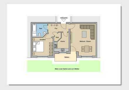 2-Zimmer-Wohnung in TOP-Lage