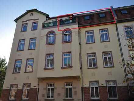 3-Raum Wohnung mit Balkon und PKW Stellplatz