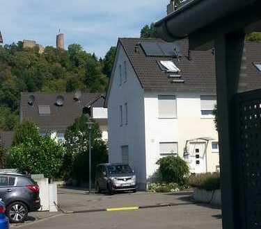 Reiheneckhaus, massive Bauweise in der Nähe des Exotenwaldes in Weinheim.