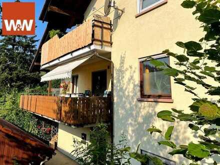Große 3,5-Zimmer-Wohnung in kleiner Wohneinheit in Schopfheim-Eichen