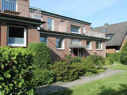 Großzügige 2 Zimmer Eigentumswohnung mit 2 Dachterrassen und TG-Stellplatz Grenze Volksdorf !