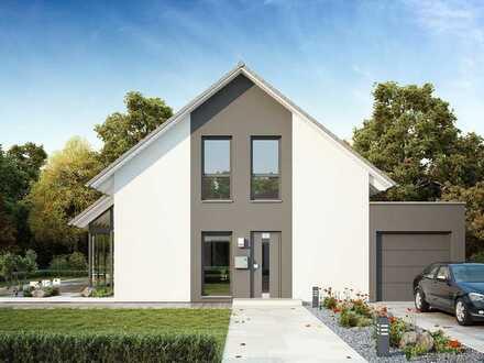 modernes Wohnen und viel Platz für die ganze Familie, mit exklusivem Grundstück