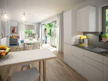 Neubau-Maisonette-Wohnug als Townhouse /Haus-in-Haus mit ca. 76 qm Privatgarten WAL9a-WE02