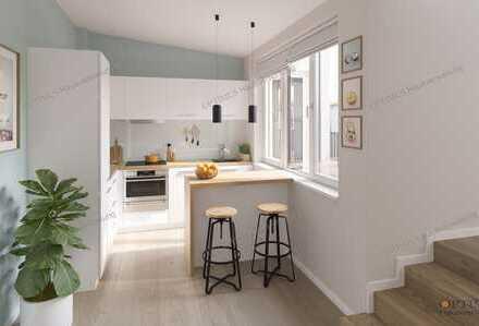 neue DG-Wohnung (teilbar in 2 WE) mit Terrasse provisionsfrei zum Verkauf