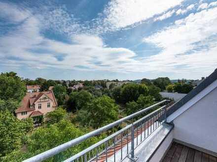 Wohnung mit Weitblick -exklusive Dachgeschoss-Maisonettewohnung mit Terrasse