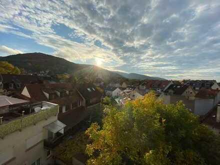 Über den Dächern von Handschuhsheim: 120qm Maisonette-Wohnung - ideal für Familie mit 1-2 Kindern