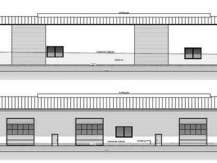 Neubau - Erstbezug! Hallen-, Lager- und Büroflächen in verkehrsgünstiger Lage