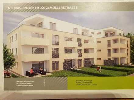 Erstbezug mit Blick ins Grüne: Stilvolle 3-Zimmer-Wohnung in Landshut